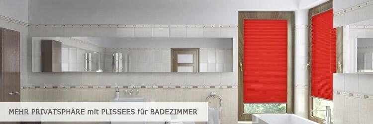 bad plissee | plissee-experte.de