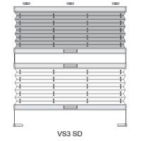 Plissetyp Plissee verspannt VS3-SD