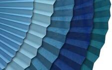 Hitzeschutz in blau