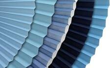 Sichtschutz in blau