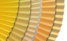 Sichtschutz in gelb