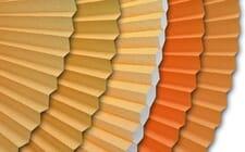 Sichtschutz in orange