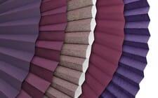 Sichtschutz in violett