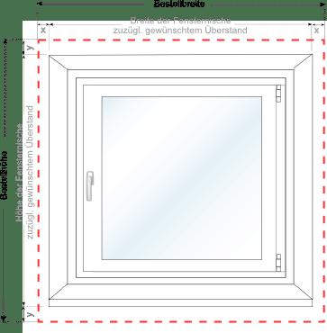 plissee messen fenster richtig messen plissee. Black Bedroom Furniture Sets. Home Design Ideas