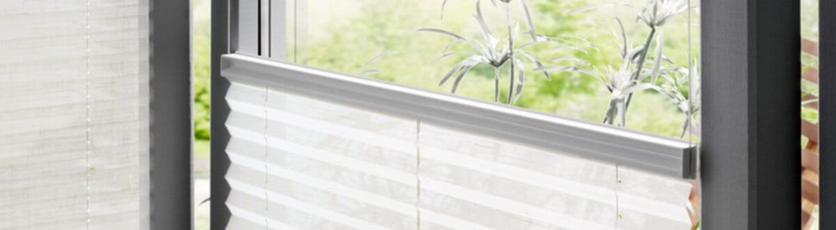 Smart Plissee für Schiebetüren und Balkontüren