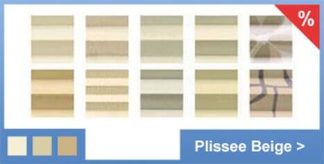 Doppelplissee: Duo Plissee mit 2 Stoffen | Plissee-Experte.de