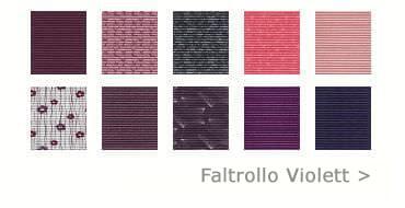 Faltrollo violett