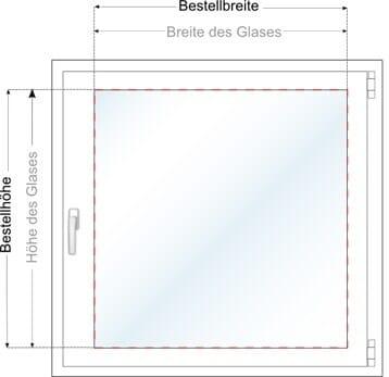Turbo Plissee Messen: Fenster Richtig messen! Plissee-Experte.de AF05