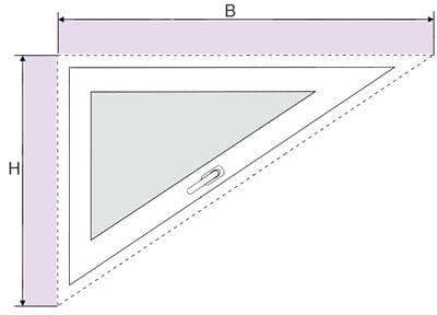 Plissee FDS4 - Messen bei der Montage am  Mauerwer